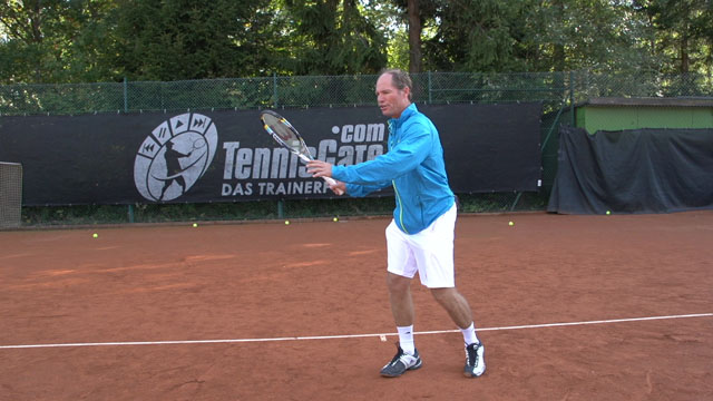Keep your Forehand Backswing Compact