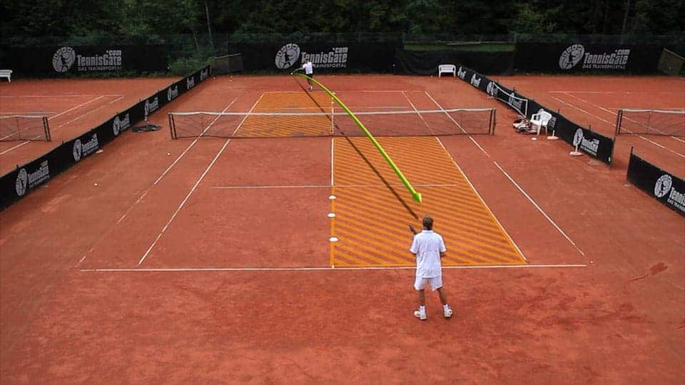 Points: Crosscourt Forehand