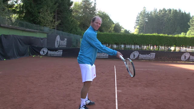 The Forehand Contact Point