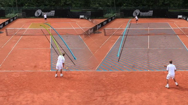 Crosscourt Forehand with the Option to go Down the Line