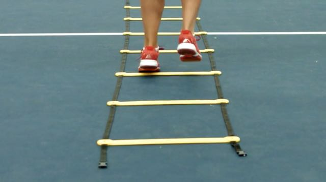 Agility Ladder - Four Forwards and Two Back
