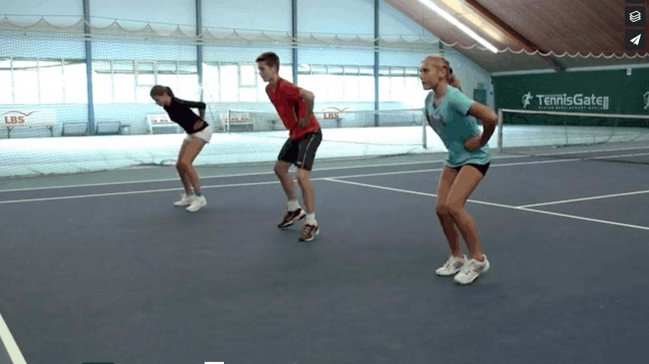 Basic Speed – Fast feet with Hands on the Hips