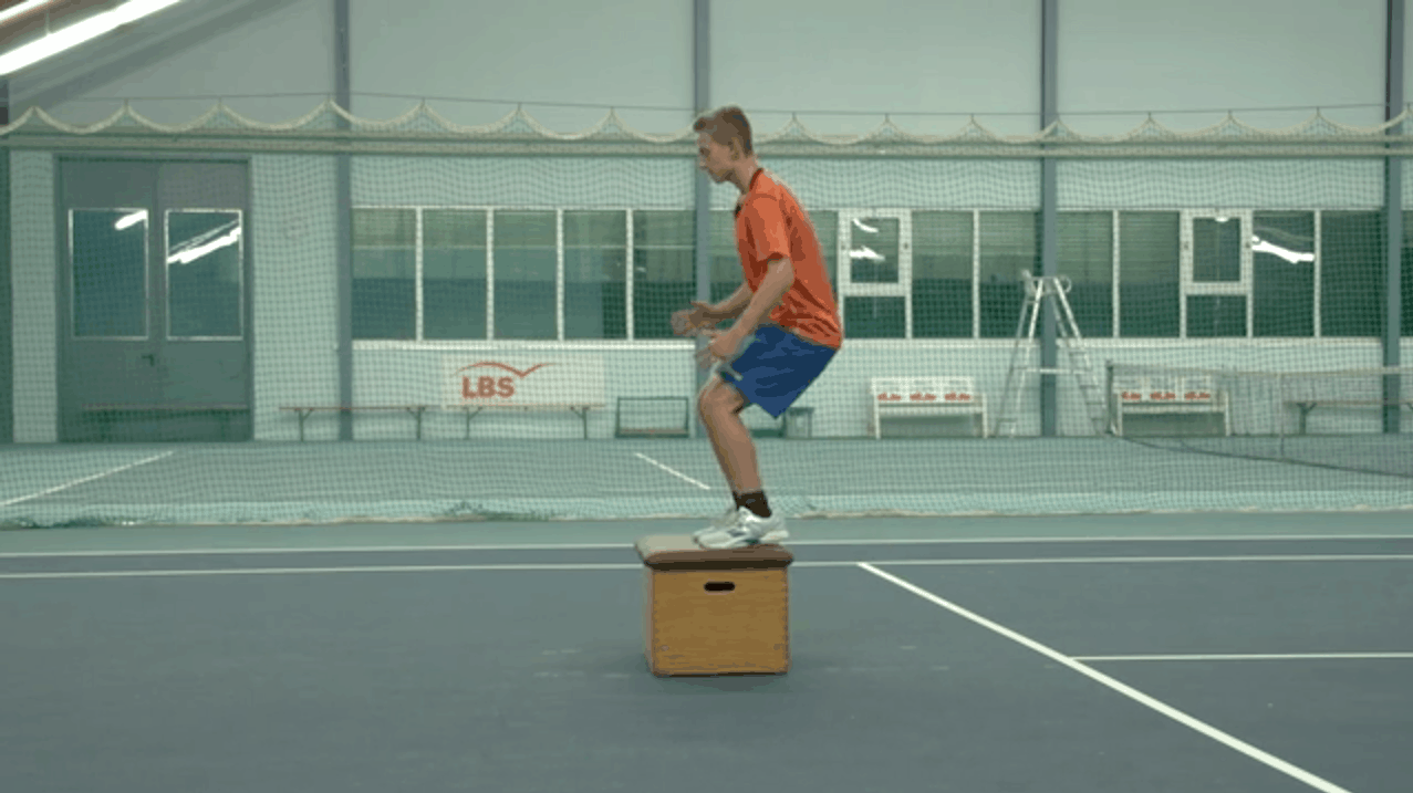 Basic Speed – Reactive Jumps on and off a Box