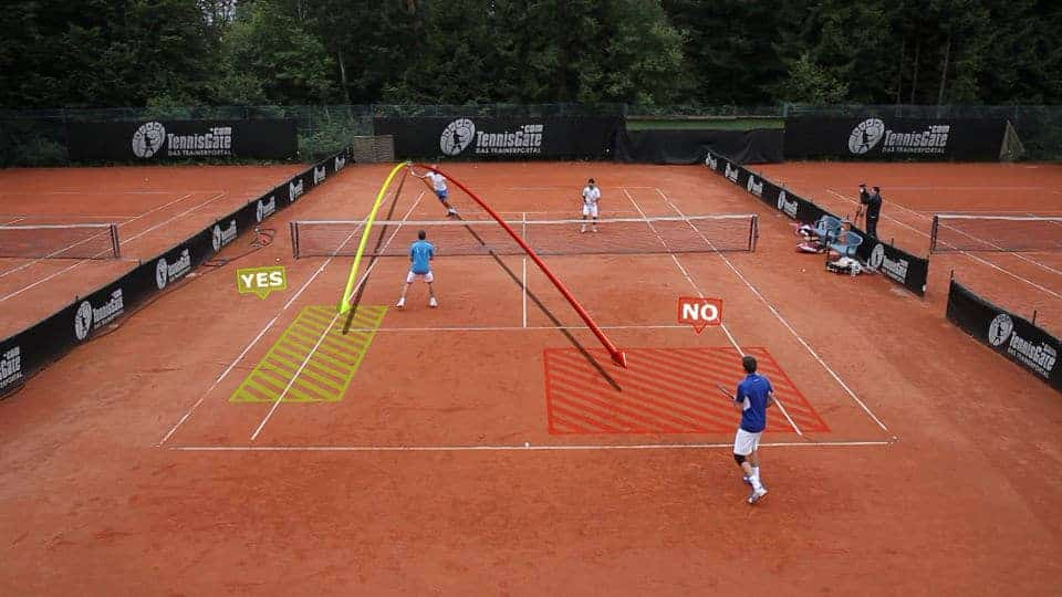 Doubles Drill: Decision on High Volleys