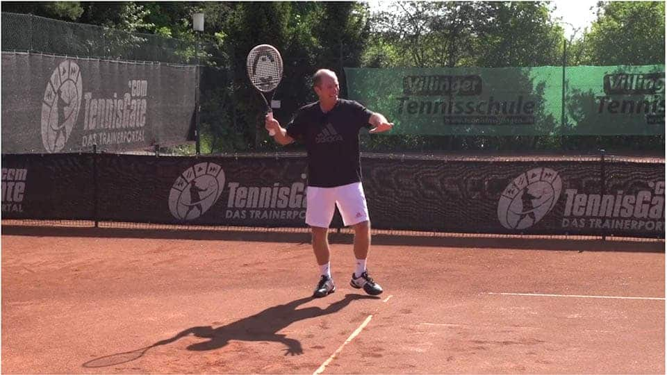 Return on a Second Serve: If you Run Around the Backhand on the Ad Court, Start the Point Inside Out