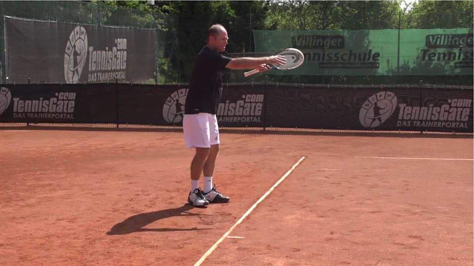 Start the Attack with an Inside-out Forehand when you Run Around your Backhand