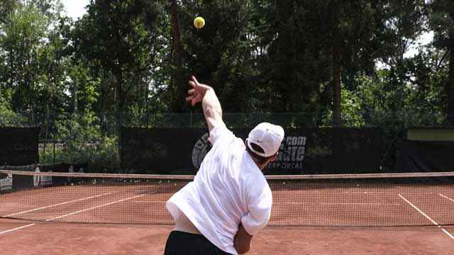 Using Ball Throws to Improve the Serve