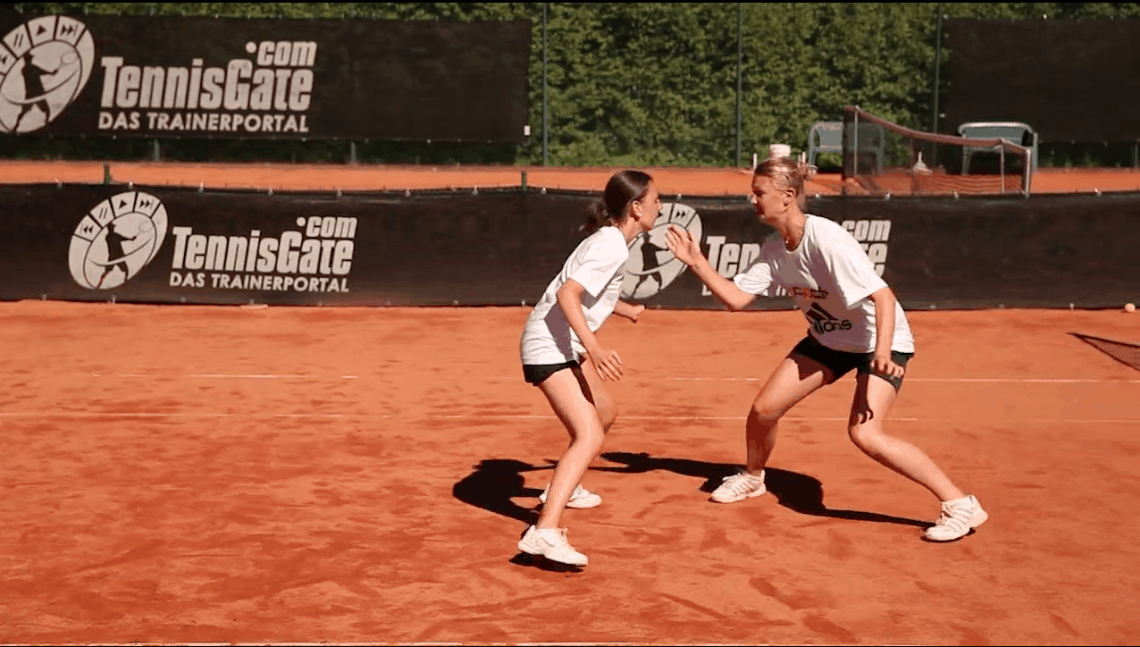 Partner-Game: Shoulder and Thigh Touch