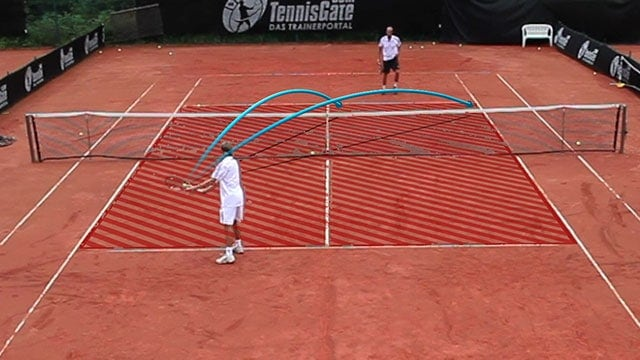 Crosscourt Slice Backhand