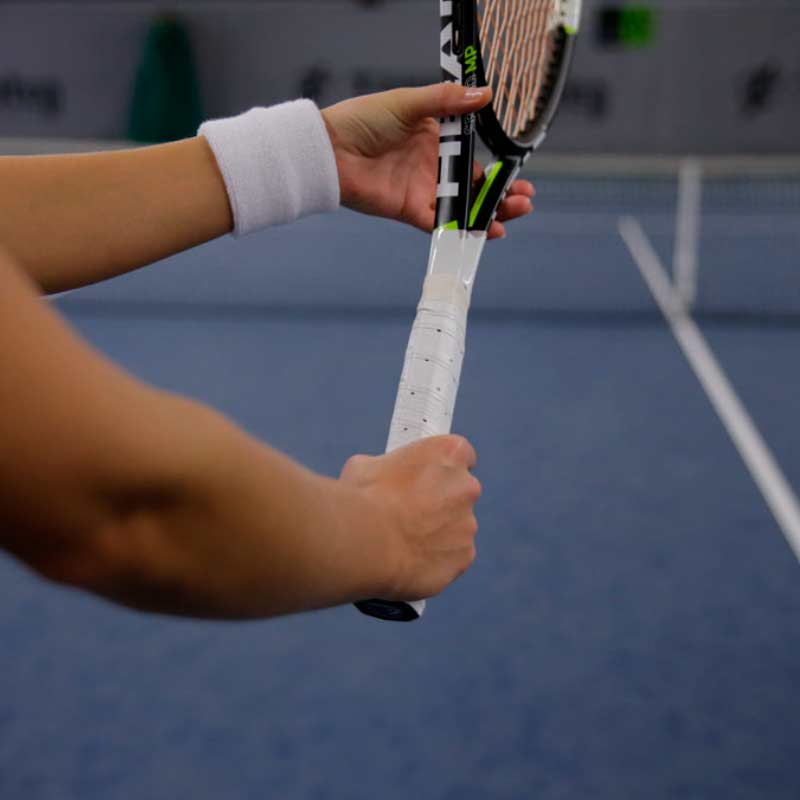The continental serve grip